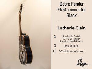 La Dobro Fender de la Lutherie Clain en vente sur Le Bon Coin