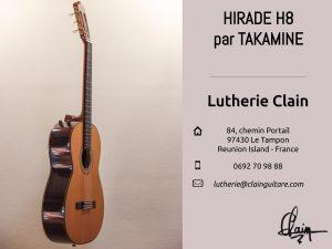 Guitare Hirade H8 par Takamine