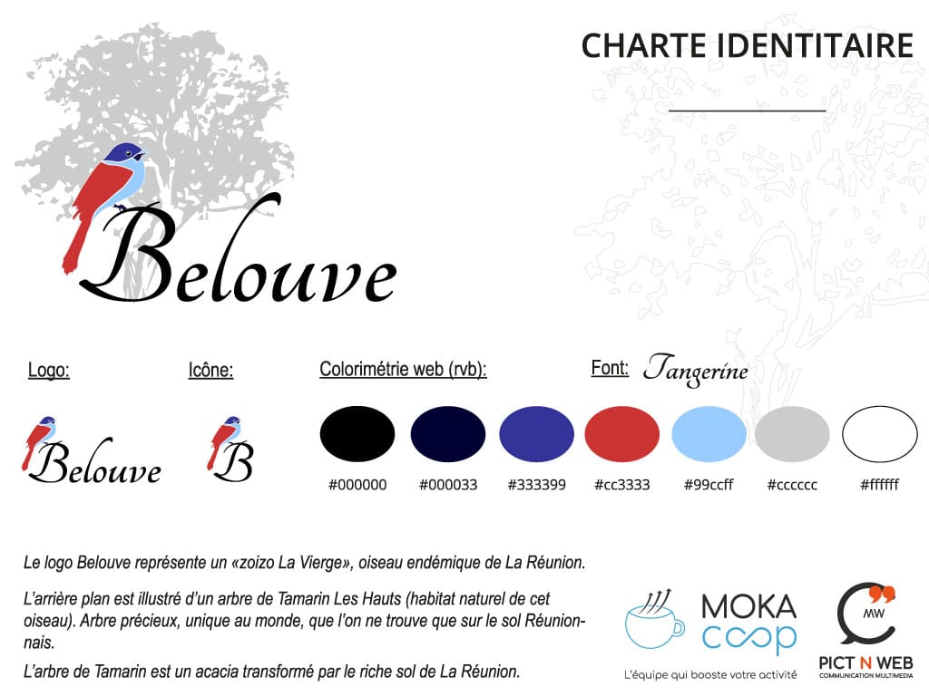 BELOUVE: Identité visuelle