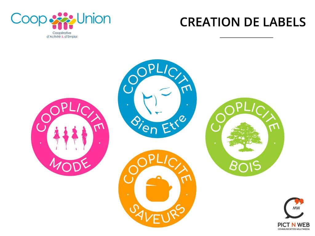 COOP UNION: Labels