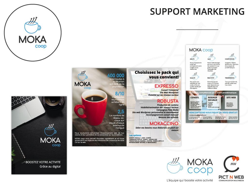 MOKA COOP: Flyer