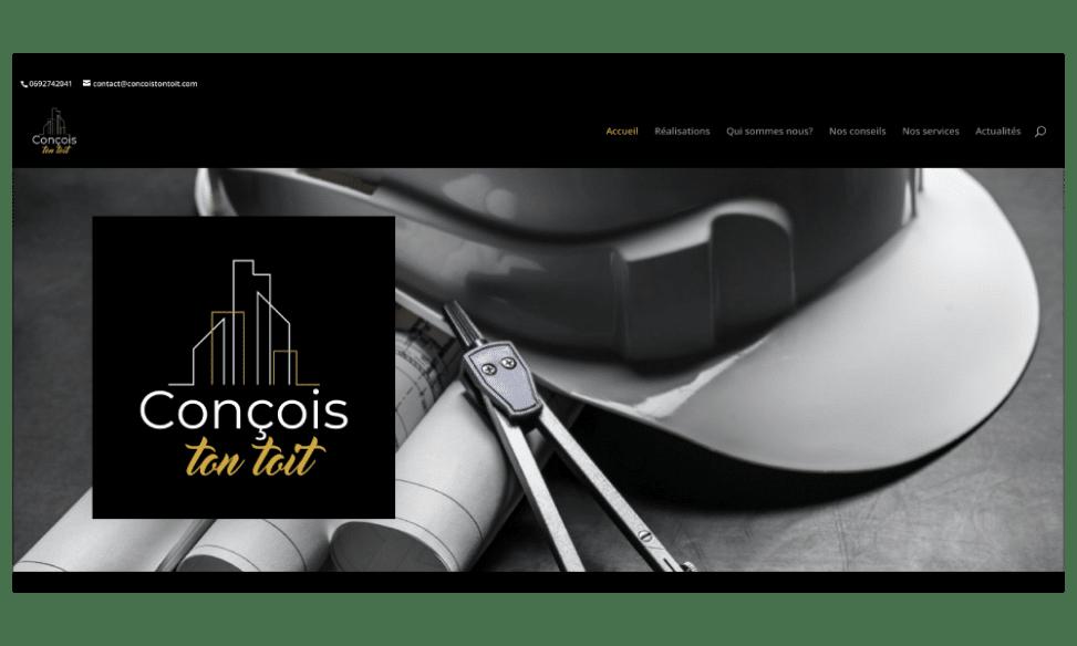 Pict N Web a réalisé le site internet de Conçois ton Toit